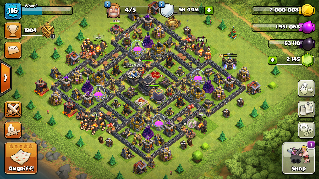 Mobile Game Clash of Clans
